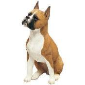 Sandicast Boxer Dog Figurine original