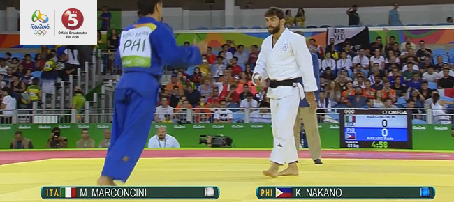 Kodo Nakano vs. Matteo Marconcini (REPLAY VIDEO) Rio Olympics 2016 - Judo