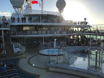 Sur l'Océan Indien, le Sea Princess s'est transformé en vaisseau fantôme