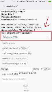 Cara Setting Jaringan CDMA Smartfren 4G LTE di Redmi Note 2 Untuk Berinternetan