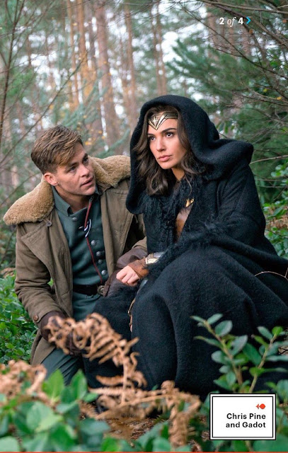 Gadot y Chris Pine en  Wonder Woman