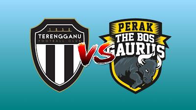 Live Streaming Terengganu vs Perak Liga Super 1 Mac 2019