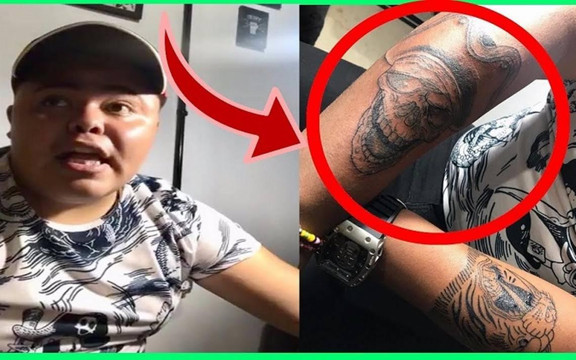 Santa Muerte Tattoos Zetas