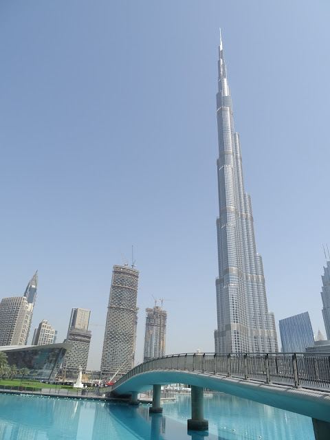 TÒA NHÀ CAO NHẤT THẾ GIỚI KHALIFA Ở DUBAI