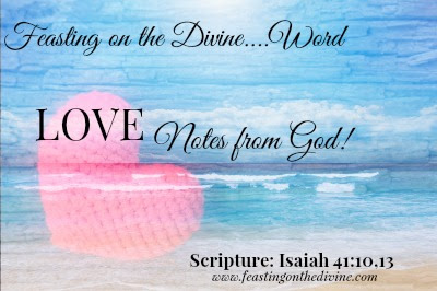 Love Notes from God Series on feastingonthedivine.com
