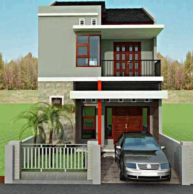 Inspirasi Model Desain Rumah Minimalis 2 Lantai Sederhana 2016