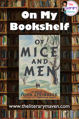 Of Mice and Men by John Steinbeck is a classic novel set in the Great Depression. Two friends, Lennie and George, dream of their own ranch, but can't hold down jobs long enough to get together the money they need to buy one. Just when it seems their dream might be in reach, tragedy strikes. Read on for more of my review and ideas for classroom application.