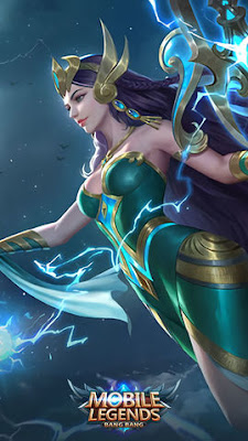 Kadita Ocean Goddess Skin Wallpapers