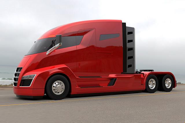 Elektrikli kamyon Nikola One