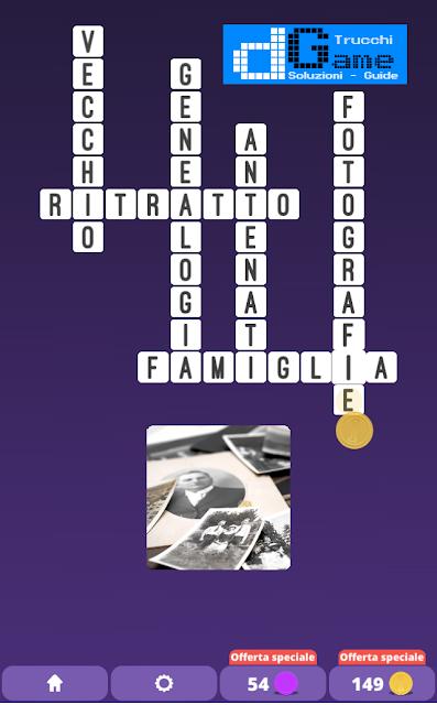 Soluzioni One Clue Crossword livello 23 schemi 12 (Cruciverba illustrato)  | Parole e foto