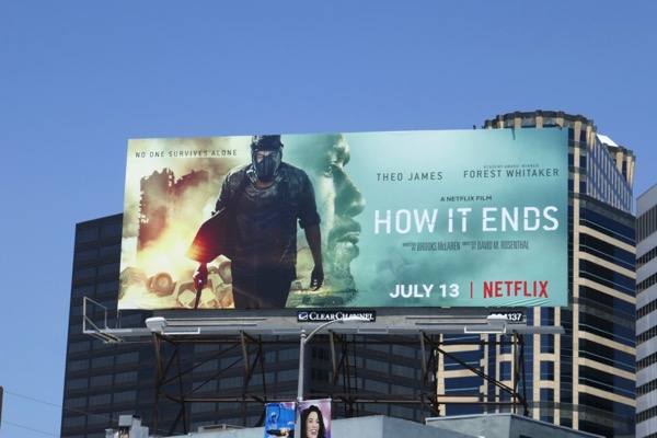 How It Ends film billboard
