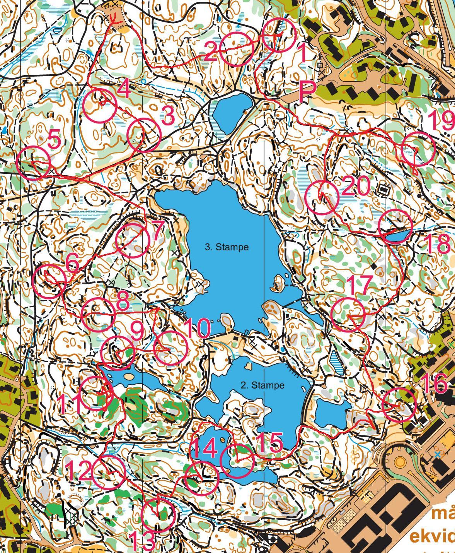 kart baneheia kristiansand Min blogg om utskeielser i hverdagen:): Baneheialøpet 2011 kart baneheia kristiansand