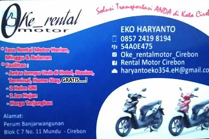 Tempat rental sepeda motor termurah di cirebon