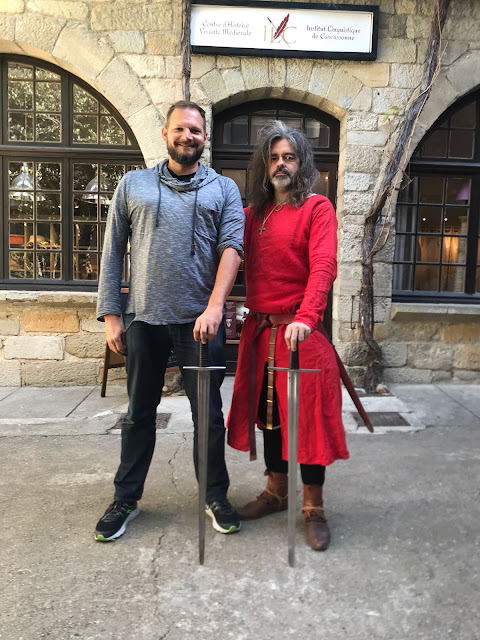 The Social Traveler with Jean-Francois Vassal at ILC in Carcassonne