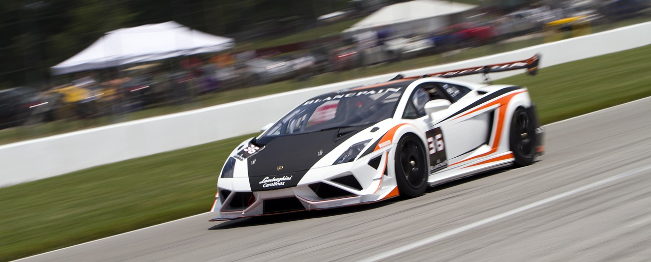 Become a Lamborghini racing driver for the weekend