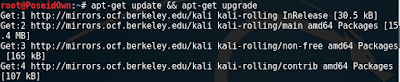 secure kali linux update upgrade
