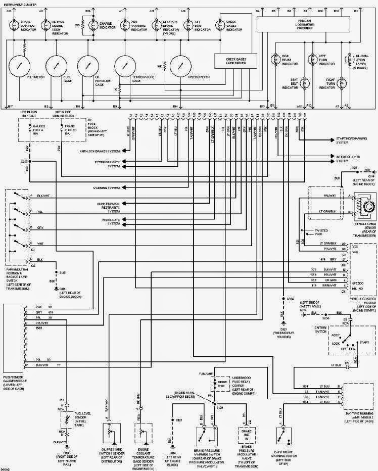 2005 chevy cavalier radio wire diagram