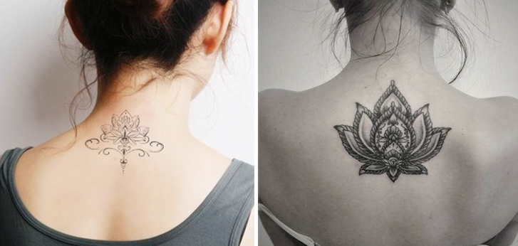 Cool And Beauty Lotus Tattoos For Women Tattoo Ideas