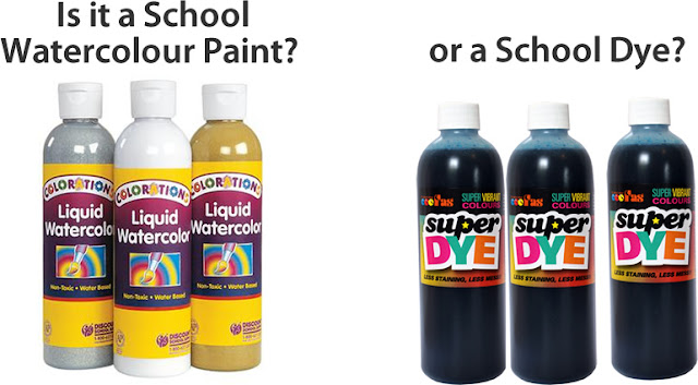 Is it a school watercolour or a Dye