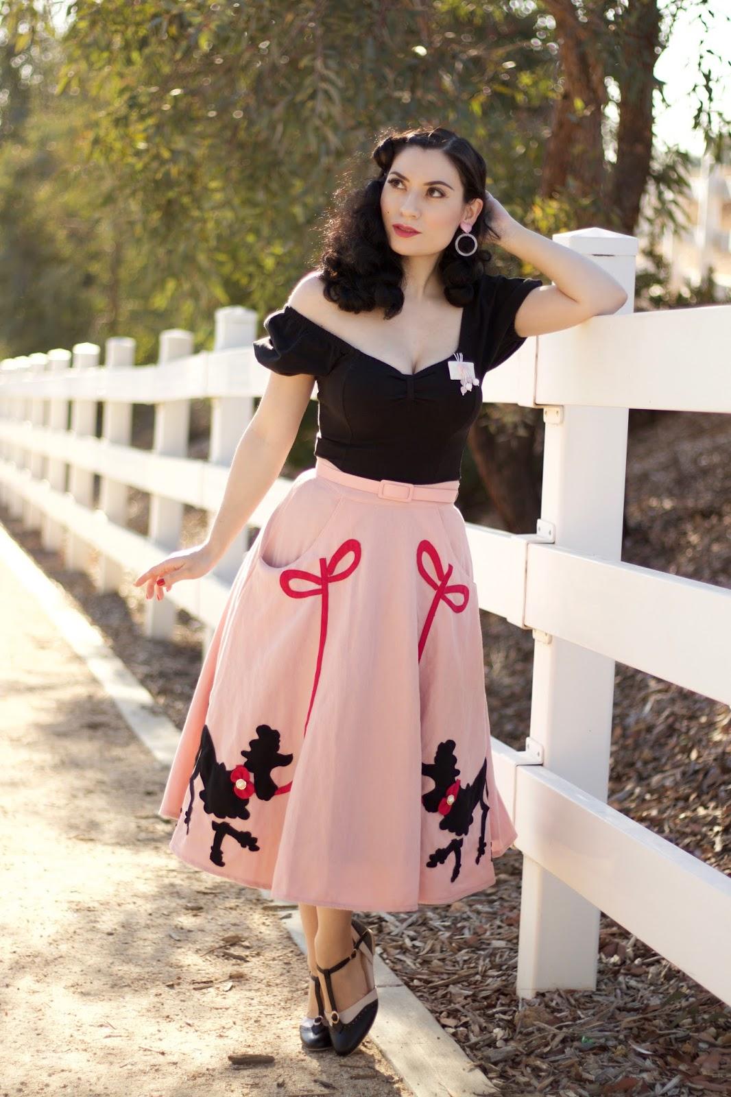Poodle Skirt | Unique Vintage - MissVintageLady