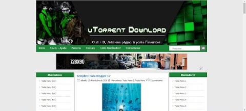 utorrent download template para blogger
