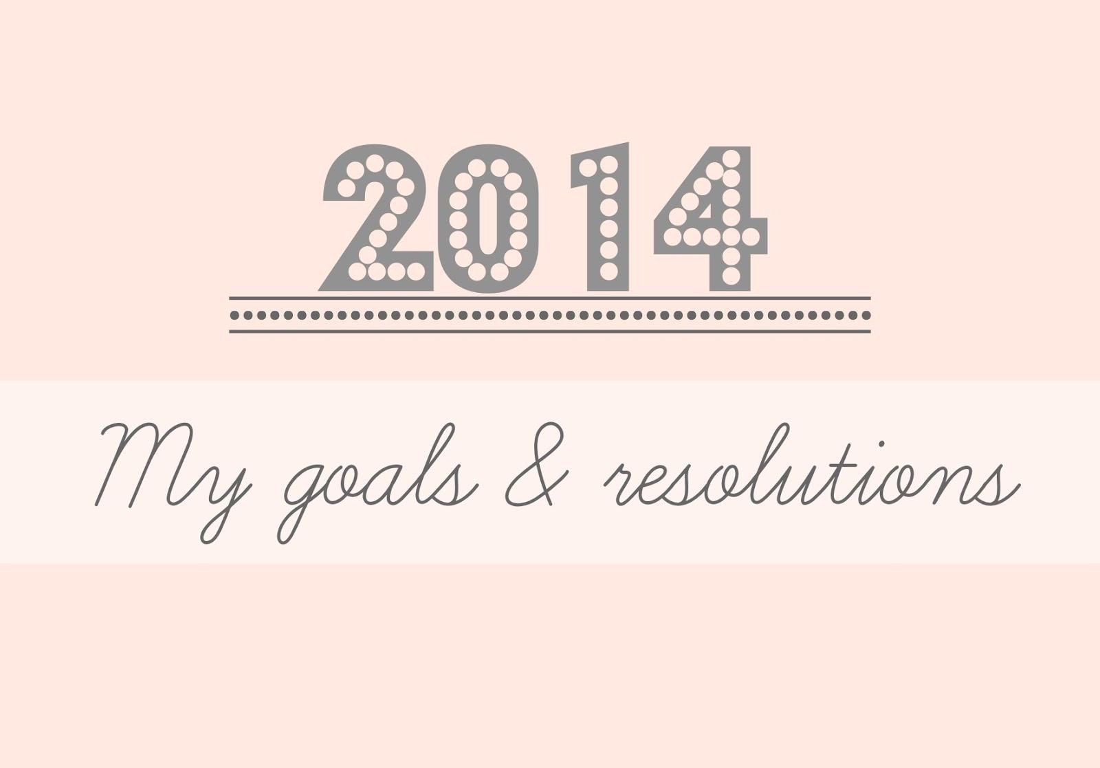 My Goals Amp Resolutions