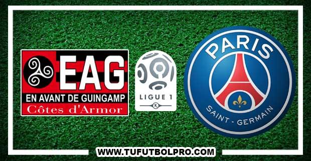 Ver Guingamp vs PSG  EN VIVO Por Internet Hoy 13 de Agosto 2017