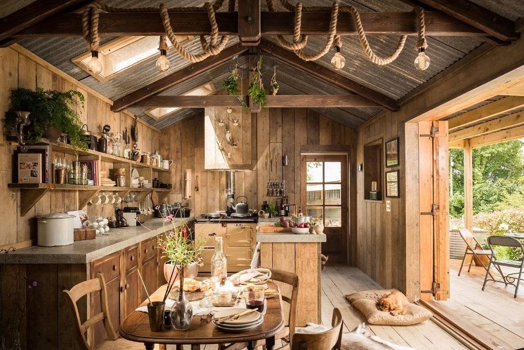 Cocinas Rurales   Cocinas Rurales El Encanto De Lo Natural Cocinas Con Estilo