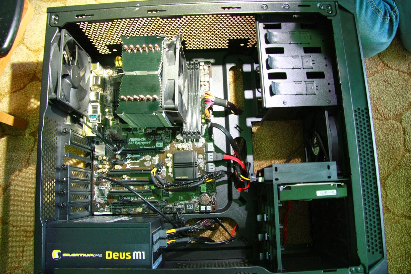 Fortis2 zamontowany na procesorze