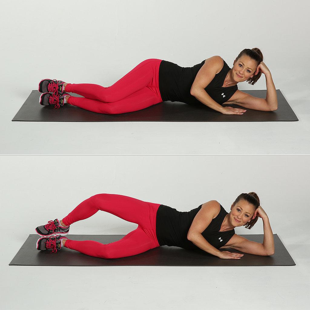 упражнения от целлюлита на бедрах