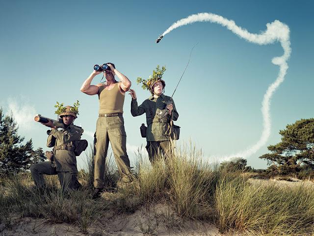 30 Fotografías graciosas e inteligentes de Arthur Mebius que te alegrarán el día