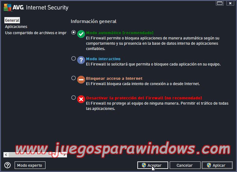 AVG Internet Security v2014.0.4765 Multilenguaje ESPAÑOL Protección Total Para Tu PC 10