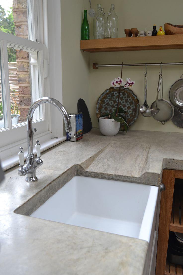 Kitchen Countertops Ideas Countertop Materials Washstand Concrete
