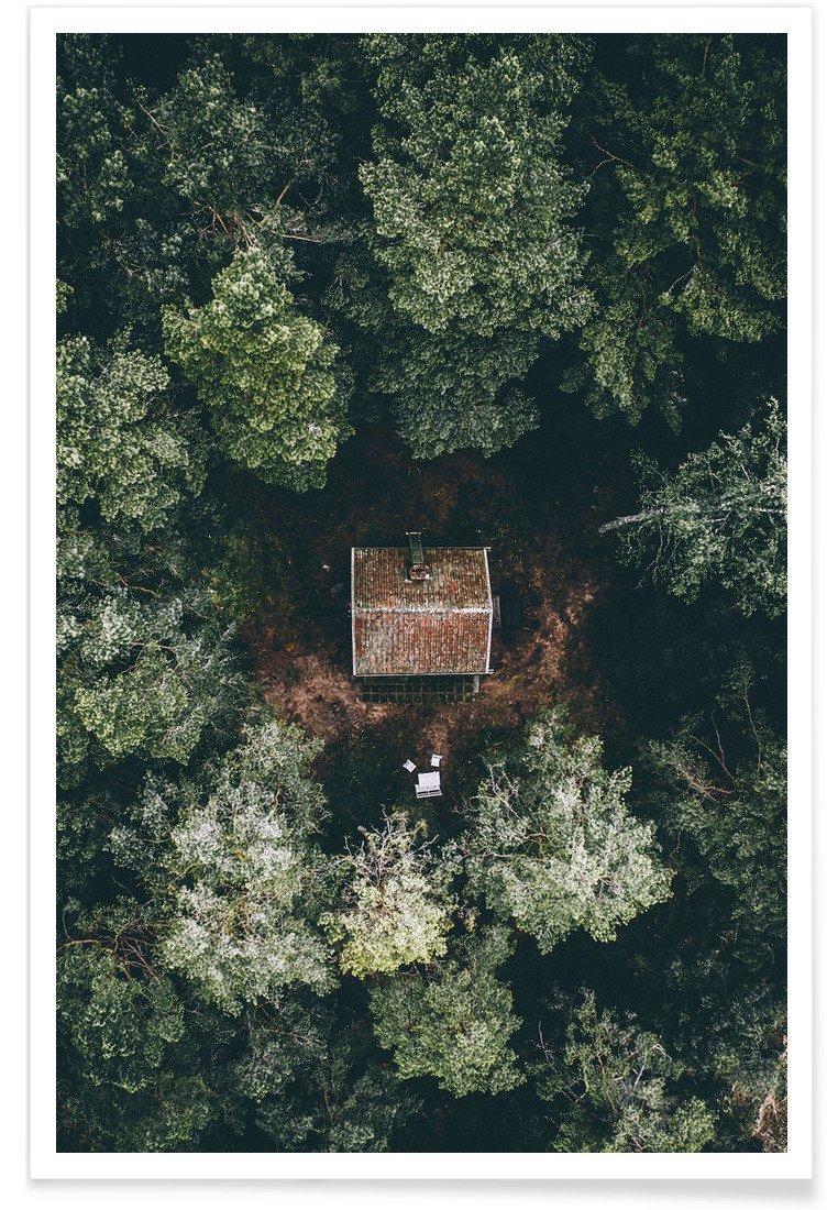 Das Haus im Wald. Ruhe. Einfachheit. Einfach leben