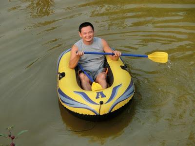 Inflatable boat murah Lazada
