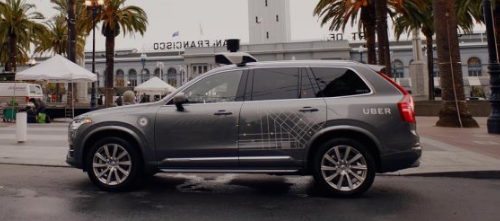 Uber's business  models canvas - Strategy target market San Francisco tests violate California laws?