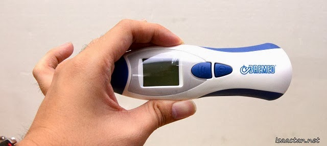 The Bremed BD1500 thermometer is a rather cool gadget, both functional and sleek looking