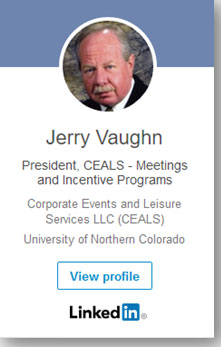 Linked in Profile Jerald R Vaughn