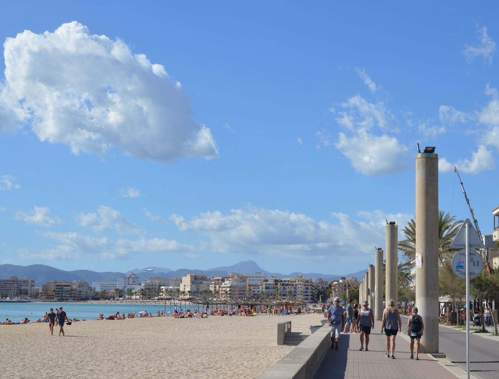Visiting Palma Aquarium from Santa Ponsa  - Palma beach