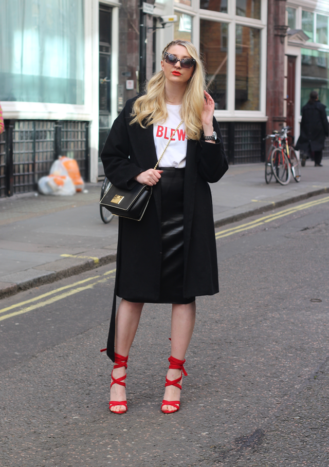 london fashion week missguided blogger