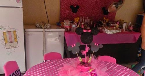 Cute Minnie Party Decoration  Oh My Fiesta in english