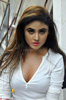 Sony Charishta in White Top and Denim jeans ~  Exclusive Galleries 018.jpg