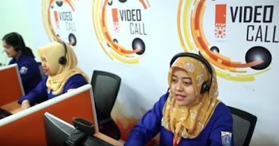 Layanan Video Call Di Mal Pelayanan Publik