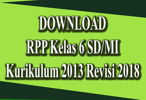 Download Rpp Mi K 13 Revisi Terbaru Qurhas