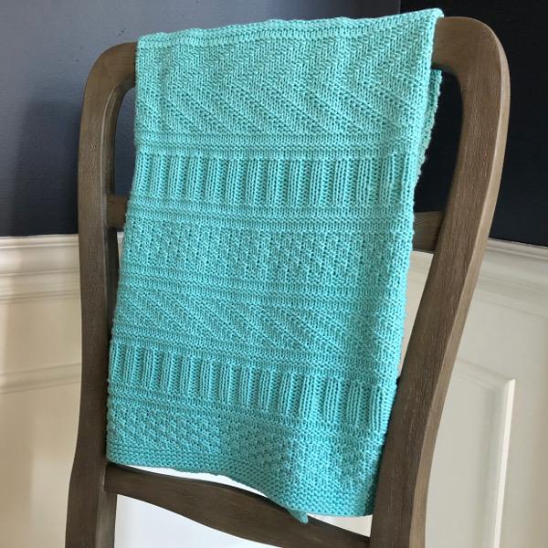 cozy birdhouse | guernsey baby blanket