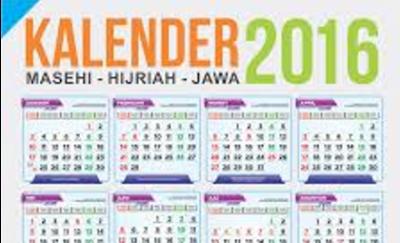 Daftar Lengkap Hari Libur dan Cuti Bersama Tahun Pelajaran 2016/2017