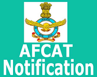 AFCAT 1 Notification