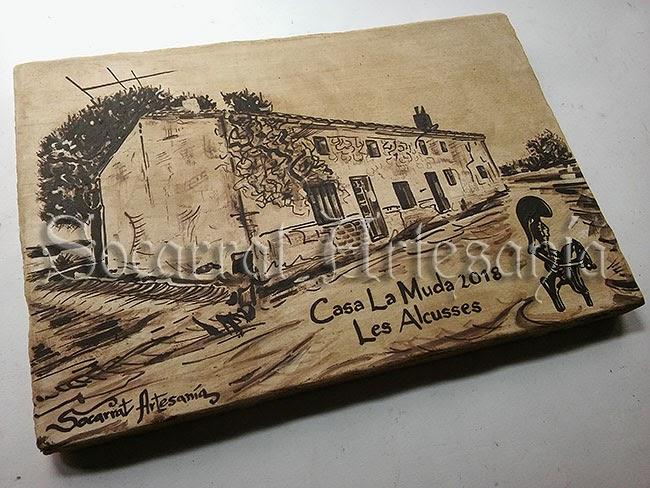 Esta casa está situada en les Alcusses, Moixent. Socarrat Artesanía