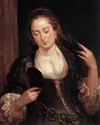 femeie-cu-oglinda-rubens-1640
