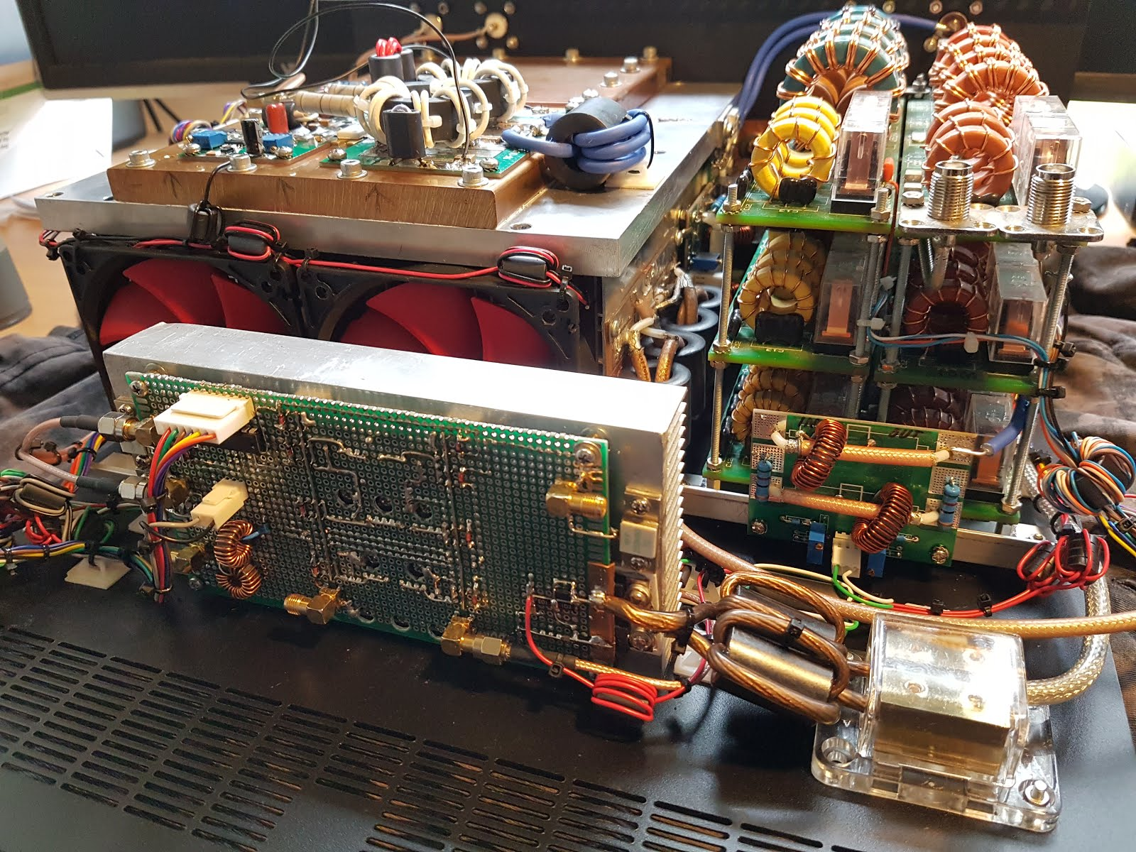Solid state Linear Amplifier project: 2016